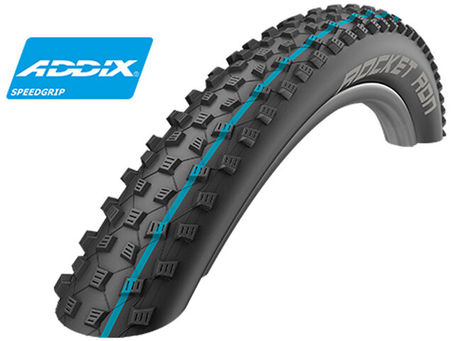 "SCHWALBE Rocket Ron Pneu pliable 26"" Addix Performance TL-Ready, black"